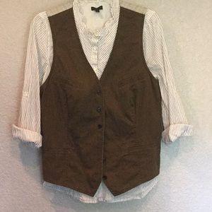 Ralph Lauren Jean Co. Vest